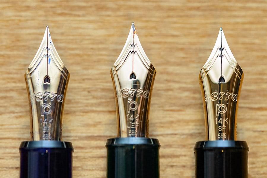 UEF EF SF のペン先